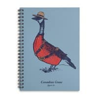 Canadian Goose - spiral-notebook - small view