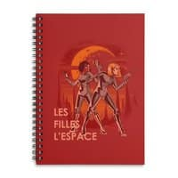 LES FILLES L'ESPACE - spiral-notebook - small view