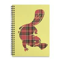 Plaid-apus - spiral-notebook - small view