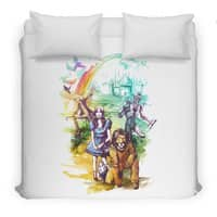 Where Dreams Come True - duvet-cover - small view