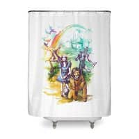 Where Dreams Come True - shower-curtain - small view