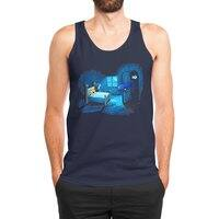 Monster in the Closet - mens-jersey-tank - small view