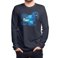 Monster in the Closet - mens-long-sleeve-tee - small view