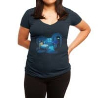 Monster in the Closet - womens-deep-v-neck - small view