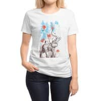 A Happy Place - womens-regular-tee - small view