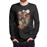 SWEDISH BIKINI WEREWOLF DESTRUCTION UNIT - mens-long-sleeve-tee - small view
