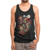 SWEDISH BIKINI WEREWOLF DESTRUCTION UNIT - mens-triblend-tank - small view
