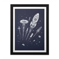 Space Race - black-vertical-framed-print - small view