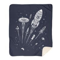 Space Race - blanket - small view