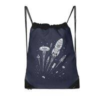 Space Race - drawstring-bag - small view