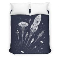 Space Race - duvet-cover - small view