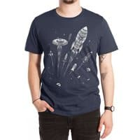 Space Race - mens-extra-soft-tee - small view