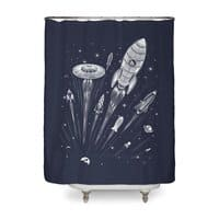 Space Race - shower-curtain - small view