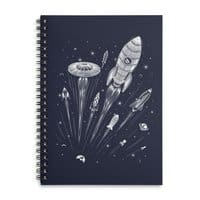 Space Race - spiral-notebook - small view