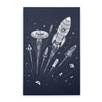 Space Race - vertical-stretched-canvas - small view
