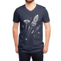 Space Race - vneck - small view