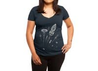 Space Race - womens-deep-v-neck - small view
