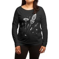 Space Race - womens-long-sleeve-terry-scoop - small view