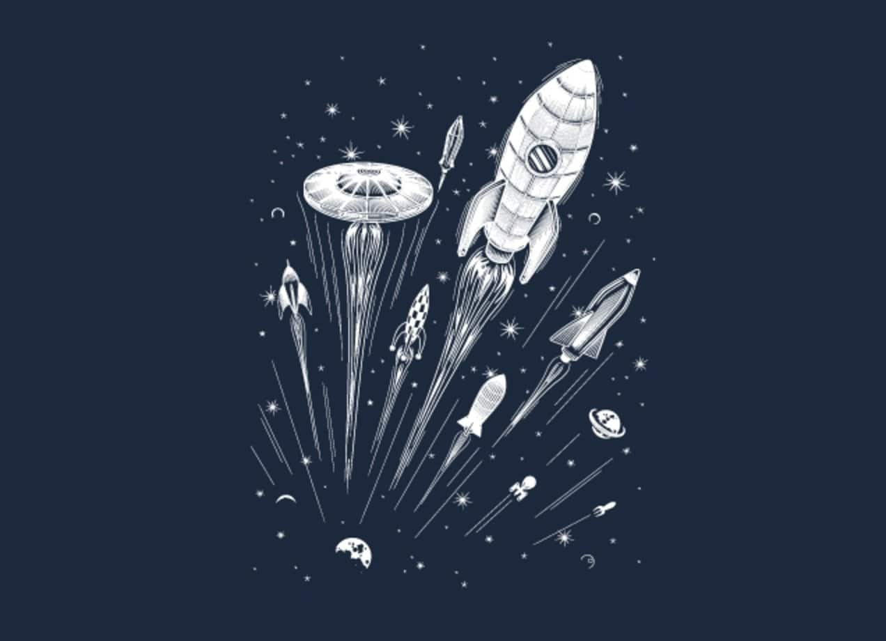 Space race by jack lightfoot mens tee threadless for Space architecture and design