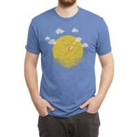 Partly Cloudy - mens-triblend-tee - small view