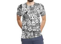 Ugly Drawings - mens-sublimated-triblend-tee - small view