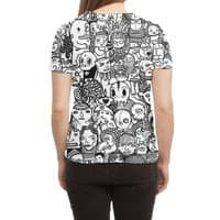 Ugly Drawings - womens-sublimated-triblend-tee - small view