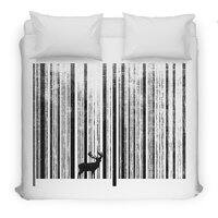 To Scan a Forest - duvet-cover - small view