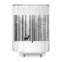 To Scan a Forest - shower-curtain - small view