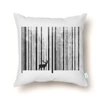 To Scan a Forest - throw-pillow - small view