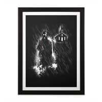 Sin City - black-vertical-framed-print - small view