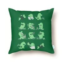 A Day in the Life - throw-pillow - small view
