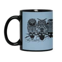 Owls of the Nile - black-mug - small view