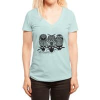Owls of the Nile - womens-deep-v-neck - small view