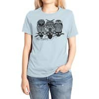 Owls of the Nile - womens-extra-soft-tee - small view