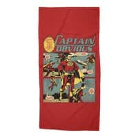 Captain Obvious! - beach-towel - small view