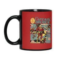 Captain Obvious! - black-mug - small view