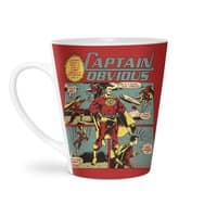 Captain Obvious! - latte-mug - small view