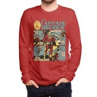 Captain Obvious! - mens-long-sleeve-tee - small view