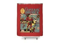 Captain Obvious! - shower-curtain - small view