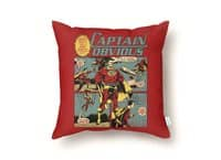 Captain Obvious! - throw-pillow - small view