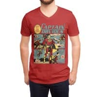 Captain Obvious! - vneck - small view