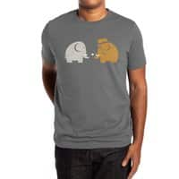 Mammoths were Hippies - mens-extra-soft-tee - small view