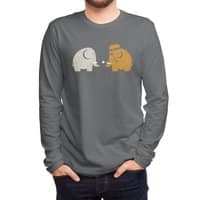 Mammoths were Hippies - mens-long-sleeve-tee - small view