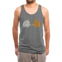 Mammoths were Hippies - mens-triblend-tank - small view