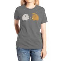 Mammoths were Hippies - womens-extra-soft-tee - small view