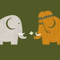 Mammoths were Hippies - small view