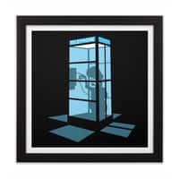 Calling Home - black-square-framed-print - small view