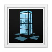 Calling Home - white-square-framed-print - small view