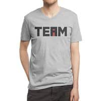 The i in TEAM - vneck - small view