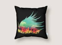 In Flying Colours - throw-pillow - small view